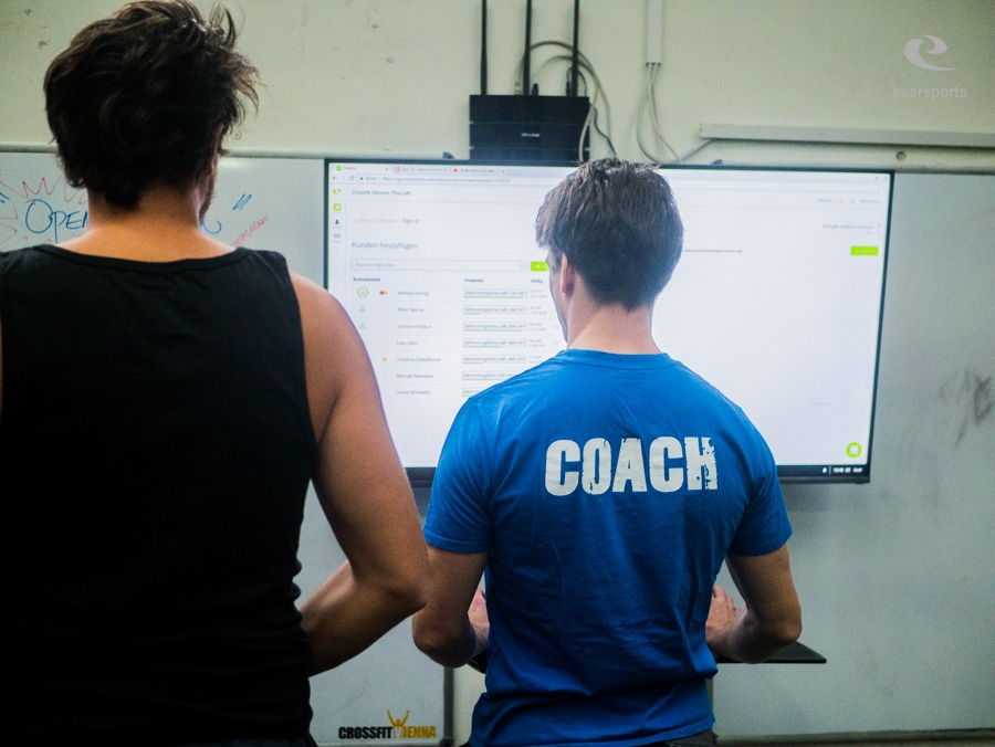 Gründer & Coach Sebastian verwaltet seine Mitglieder über den Eversports Manager